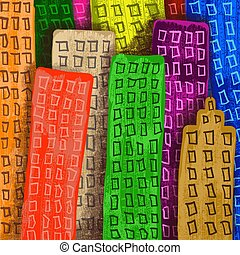 bebyggelse, skyskrapa