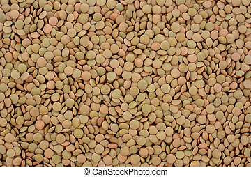 Green lentils background - Green lentils, abstract...