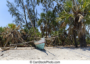 Pirogue of Madagascar - Traditional pirogue of Madagascar