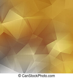 Geometric background with triangular + EPS10 - Abstract...