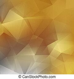 幾何学的, 背景, 三角, EPS10