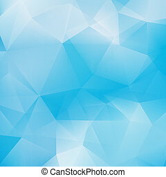 Blue triangle abstract background. + EPS10