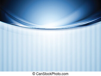 Abstract blurred waves design - Abstract blurred vector...