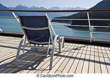Alaska - Relaxing On The Deck - Alaska - Enjoy Haines -...