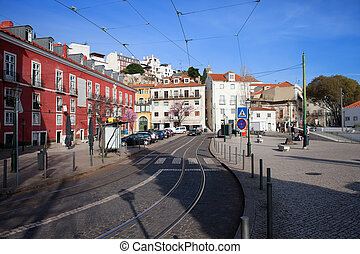 Portas do Sol in the City of Lisbon - Portas do Sol terrace...