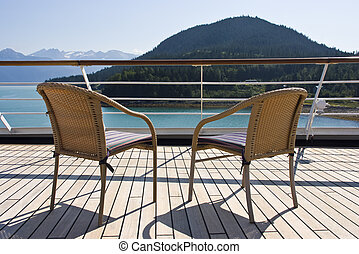 Alaska - Relaxing On The Deck