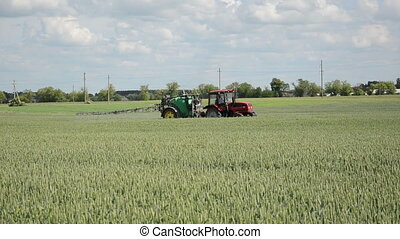 crop protect technology - Agriculture summer works for crop...