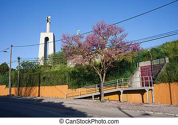 Almada in Spring - Spring in the Almada, Portugal, road...