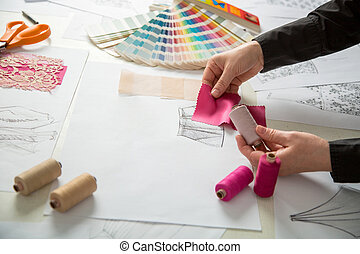 fashion or tailor designers - fashion designers, working in...