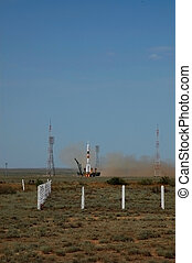 Soyus TMA-15 Launch On May 27, 2009 - Russian Soyuz TMA-15...