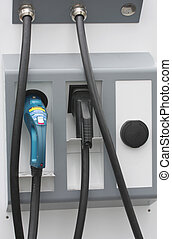 Charging stations for electric cars - Modern charging...
