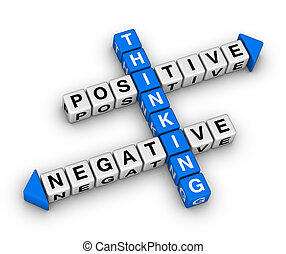 positive and negative thinking
