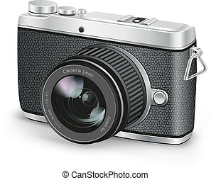 amateur camera - The amateur photographer camera on the...