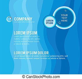 Background concept design for brochure or flyer, abstract...