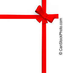 edge of page or website present ribbon graphic design
