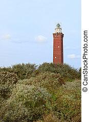 Lighthouse Dutch coast