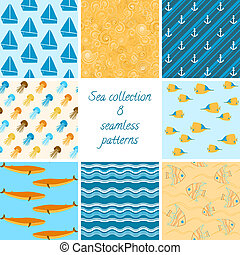 Marine patterns collection 2