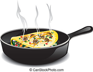 Omelet Stock Illustrations. 993 Omelet clip art images and ...