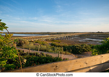 Quinta do Lago, Portugal - Bridge in Quinta do Lago, that...