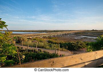 Quinta do Lago, Portugal - Bridge in Quinta do Lago, that...