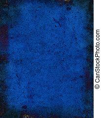 Dark Blue Texture Background - Dark blue woven grunge...