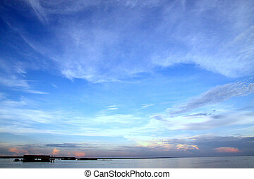 Tonle Sap Skyline - Stunning view of the Tonle Sap....