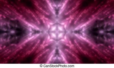 Soft Flowing Magic Loop in Red