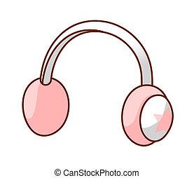 A head phones