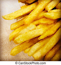 French fries fast food