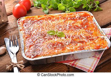 lasagne bolognese - Homemade lasagne bolognese