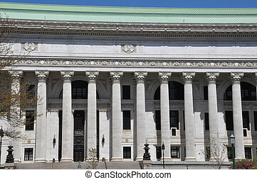 State Education Building in Albany