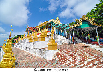 U Min Thonze Cave - A greatly revered Buddhist temple at...