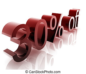 Thirty percent discount - Thirty Percent discount, retail...