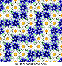 Design seamless colorful floral decorative pattern. Abstract...