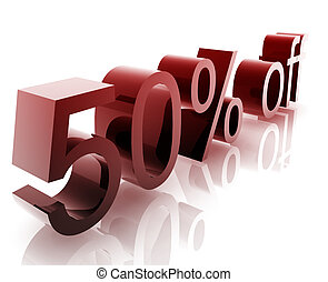 Fifty percent discount - Fifty Percent discount, retail...