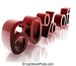Sixty percent discount - Sixty Percent discount, retail...