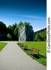 Moravian Karst - Important karst area of Czech Republic...