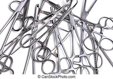 quirúrgico, instrumentos