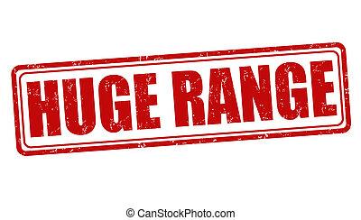 Huge range stamp