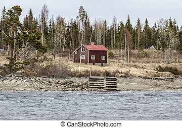 Old wooden cabin