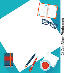 Business background with hands, vector - Business background...