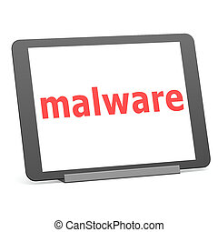 Tablet malware