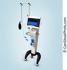 医学, 病院, 換気装置, respira