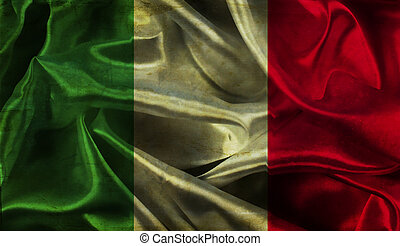 Grunge Italian flag background - Italian flag background...