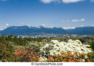 city vancouver - view of downtown vancouver