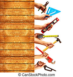 建設, 集合, 工具