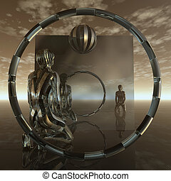 Mirror - Torus - Mirror