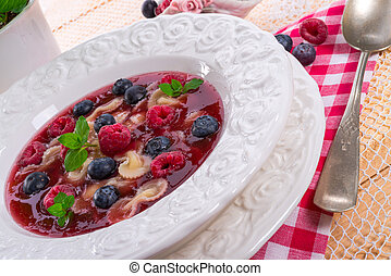 cold fruit soup
