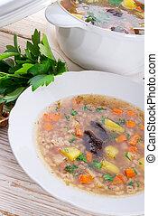 Krupnik ndash; Polish Pearl Barley Soup - Krupnik – Polish...