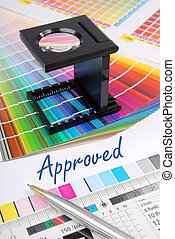 Approved - Characteristic image for the pre-press and...
